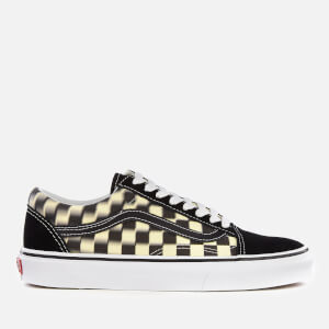 Vans Blur Check Old Skool Trainers - Black/Classic White