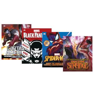 Marvel - Marvelous Guide Book Bundle - 4 Book Set