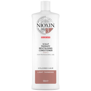 NIOXIN 3-Part System 3 Scalp Therapy Revitalising Conditioner for Coloured Hair with Light Thinning 1000ml
