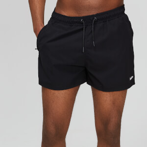 Essentials Short Swim Shorts - Black