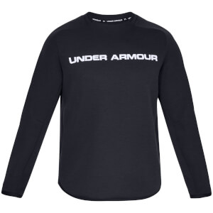 Under Armour Move Light Graphic Crew Jumper - Black