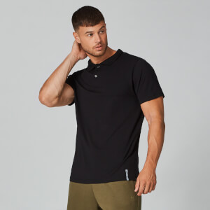 MP Luxe Classic Polo Shirt - Black