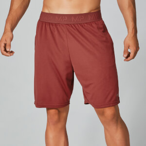 Dry-Tech Jersey Shorts - Paprika