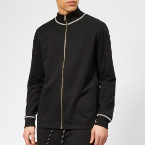 Polo Ralph Lauren Men's Loop Back Jersey Zip Top - Polo Black