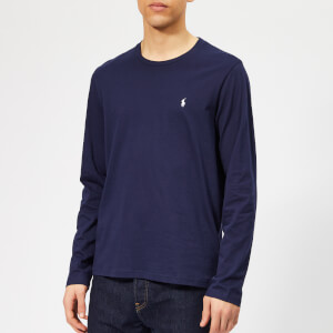 Polo Ralph Lauren Men's Long Sleeve Liquid Jersey T-Shirt - Cruise Navy