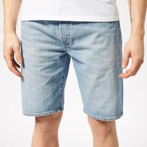 Levi's Men's 501 Hemmed Stretch Shorts - Blue Marshmallow