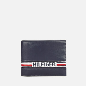 Tommy Hilfiger Men's Tape Card Wallet - Tommy Navy