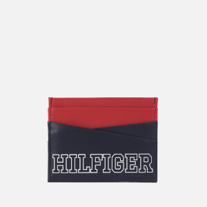 Tommy Hilfiger Men's Varsity Credit Card Holder - Tommy Navy