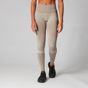 Myprotein Seamless Ultra Tonal Leggings - Sesame/Moonbeam