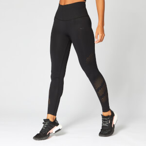 Shape Seamless Leggings — Musta