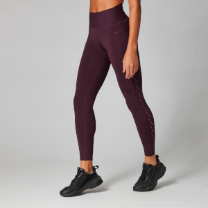 Sculpt Leggings - Röd