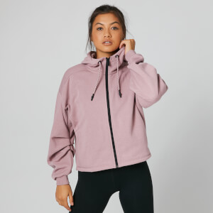 Oversized Zip-Through - Pink
