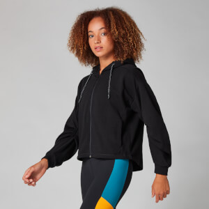 Myprotein Oversized Sweat Hoodie - Black