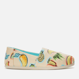 TOMS Women's Alpargata Vegan Slip-On Pumps - Cuba Fruit