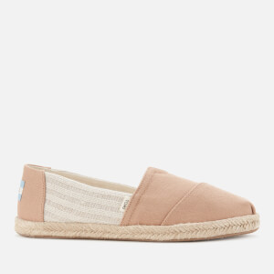 TOMS Women's Alpargata Vegan University Slip-On Pumps - Honey