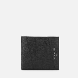 Ted Baker Men's Fiters Seamed Leather Bifold Wallet - Black