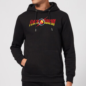 Felpa con cappuccio Flash Gordon Movie Logo - Nero