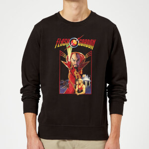 Sudadera Flash Gordon Retro Movie - Hombre - Negro