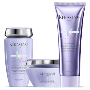 Kérastase Blond Absolu Bain Lumiere Shampoo, Treatment and Masque Trio