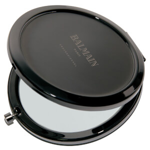 Balmain Paris Hair Couture Black Pocket Mirror (Free Gift)