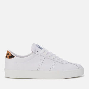 Superga Women's 2843 Comflealeopardu Trainers - White/Brown