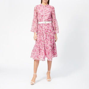 MICHAEL MICHAEL KORS Women's Enchanted Bloom Dress - Hibiscus