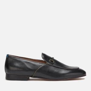Hudson London Men's Carmarthen Leather Loafers - Black