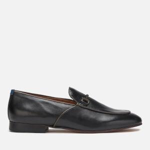 Hudson London Men's Carmarthen Leather Loafers - Black