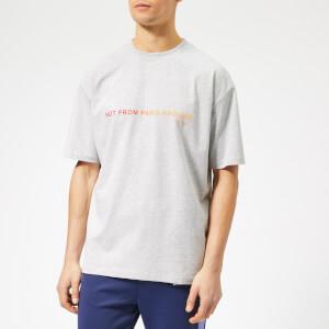 Drôle de Monsieur Men's Shaded Slogan T-Shirt - Grey