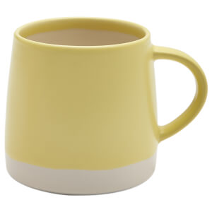 Joules Galley Grade Stoneware Mug - Pastel Yellow