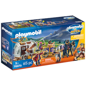 Playmobil: The Movie Charlie with Prison Wagon (70073)