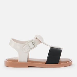Mini Melissa Toddlers' Mini Mar Lace Sandals - White Contrast
