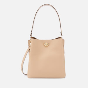 Coach Women's Polished Pebble Leather Charlie Bucket Bag - Beechwood