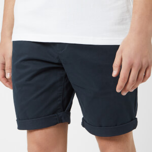 Jack Wills Men's Slim Chino Shorts - Navy