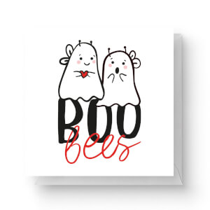 Boo Bees Square Greetings Card (14.8cm x 14.8cm)