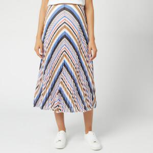 BOSS Women's Bareny Midi Skirt - Pink/Blue/Tan
