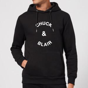 Chuck & Blair Hoodie - Black