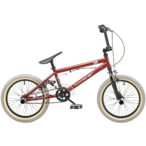 "Rooster Core 16"" Red BMX Style Bike"
