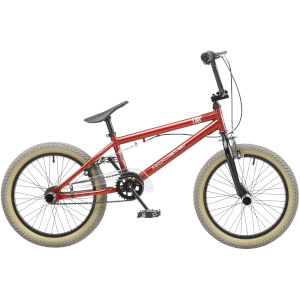 "Rooster Core 18"" Red BMX Style Bike"