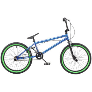 "Rooster Core 20"" Blue BMX Style Bike"