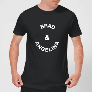 Brad & Angelina Men's T-Shirt - Black