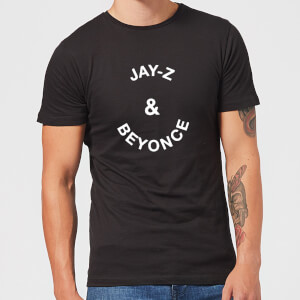 Jay-Z & Beyonce Men's T-Shirt - Black