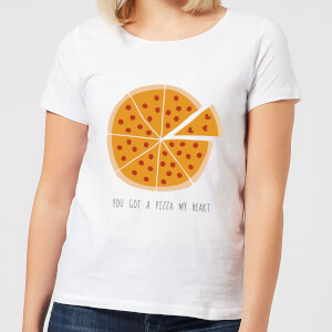 You Got A Pizza My Heart Women's T-Shirt - White