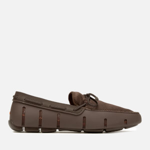 SWIMS Men's Braided Lace Loafers - Brown