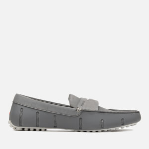 Swims Men's Penny Lux Driver Loafers - Grey/Alloy