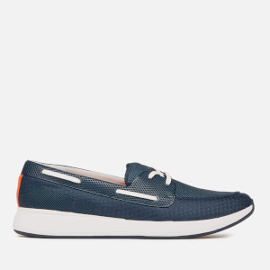 Swims Men's Breeze Wave Boat Shoes - Navy