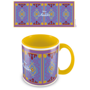 Aladdin (Magic Carpet) Yellow Inner Mug