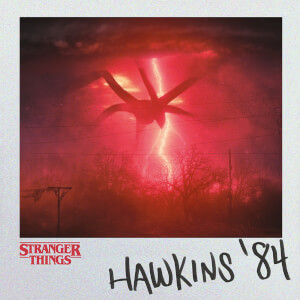 Stranger Things (Hawkins '84) 40 x 40cm Canvas Print