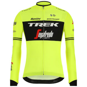 Santini Trek-Segafredo 2019 Training Classe Long Sleeve Jersey