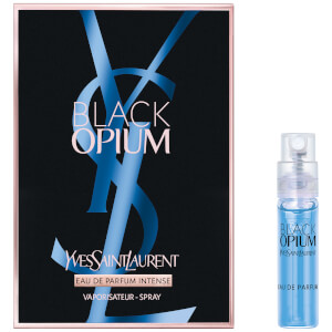 Yves Saint Laurent Black Opium Intense Eau de Parfum Sample 1.2ml (Free Gift)